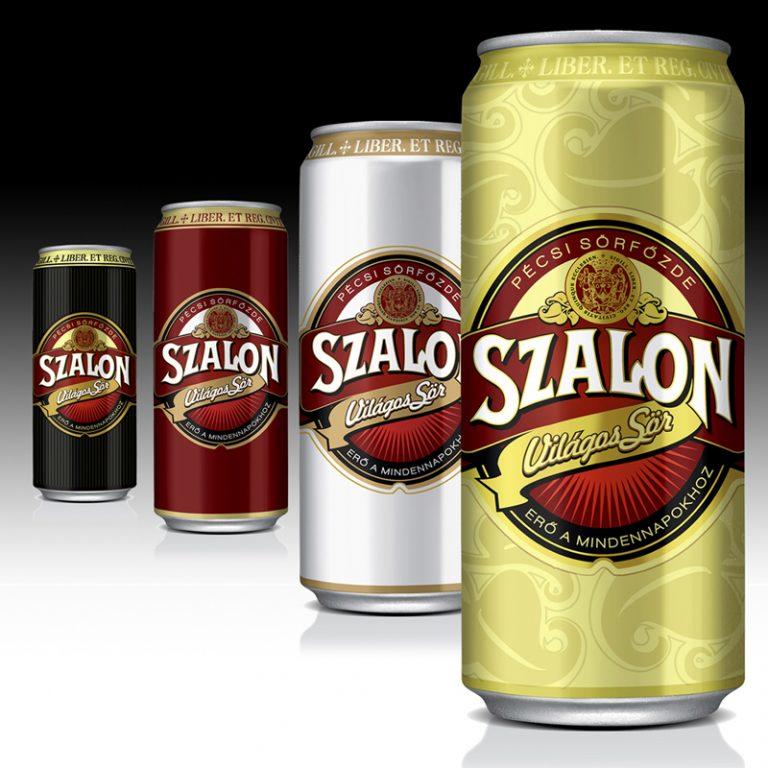 SZALON BEER RETRO CAN