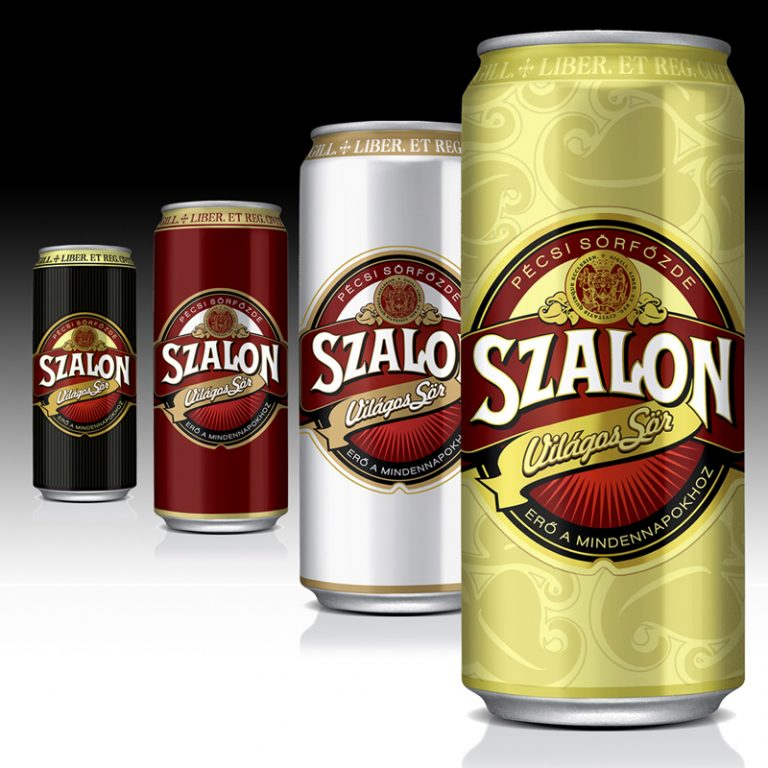 SZALON BEER RETRO CAN