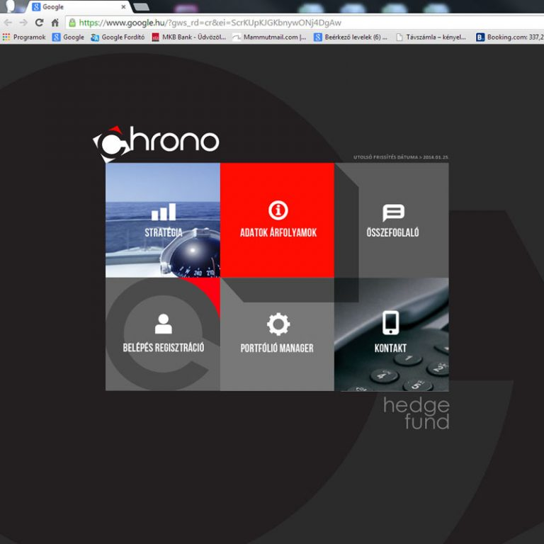 CHRONO FUND WEBSITE DESKTOP