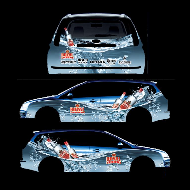 ROYAL VODKA CAR